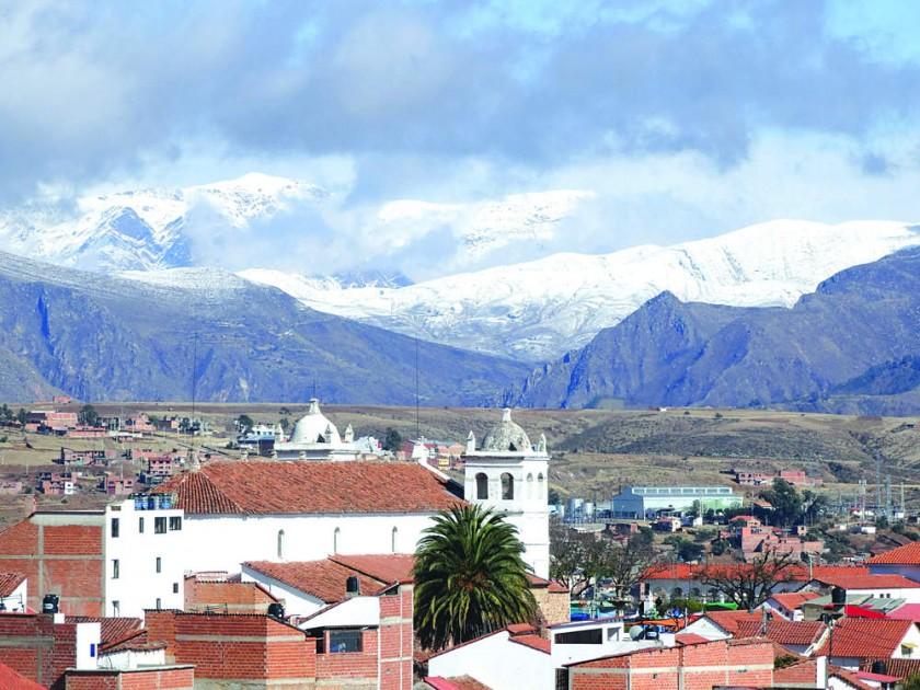 Senamhi: Se vio nieve en Sucre después de más de medio siglo