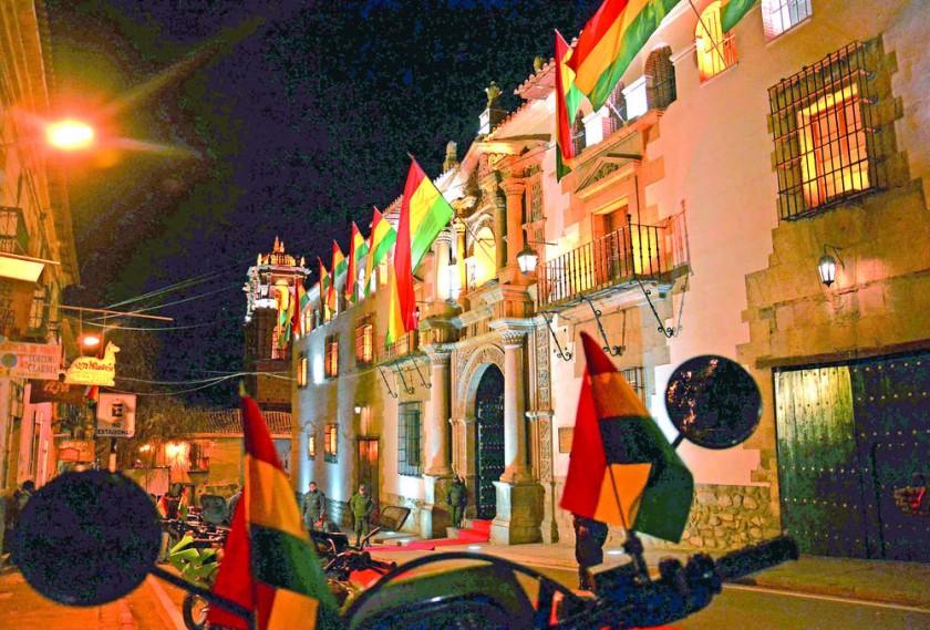 ACTOS. Una imagen de la Casa de la Moneda de Potosí, que acoge hoy por primera vez los actos centrales de la...