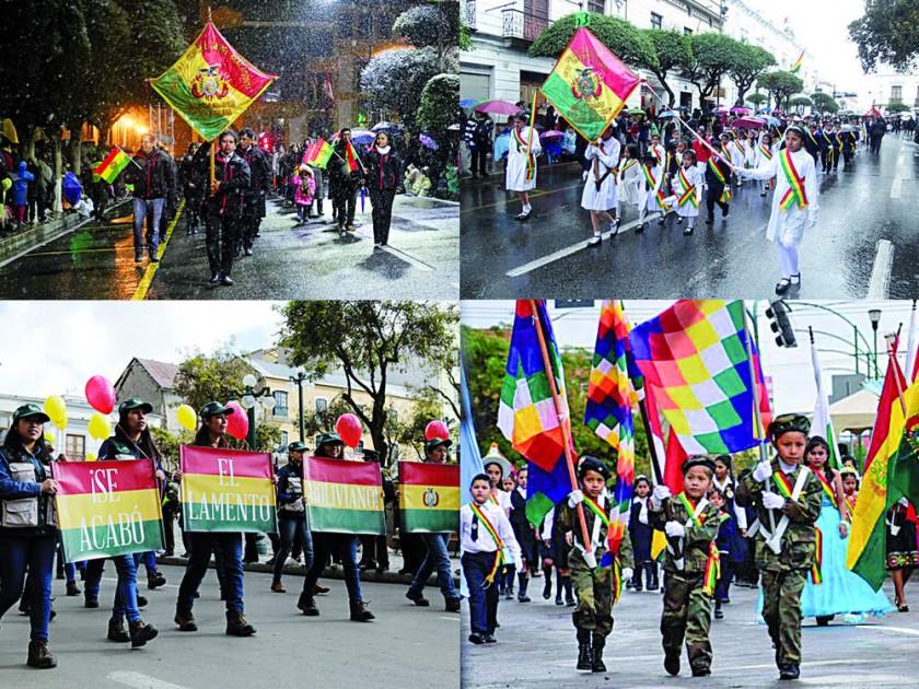 Bolivia festeja 193 años entre tensiones políticas