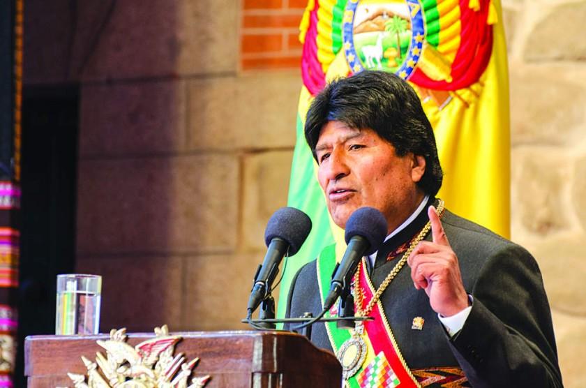 POTOSÍ. La Sesión de Honor de la Asamblea Legislativa en la que se escuchó el accidentado discurso del presidente...
