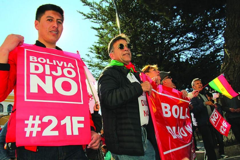 """POTOSÍ. Los gritos del """"Bolivia dijo No"""" se impusieron en los actos centrales del 6 de Agosto en Potosí."""
