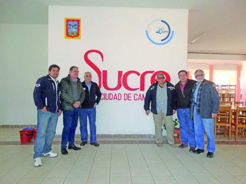 La comitiva de la Organización Deportiva Bolivariana inspeccionó ayer la Villa Bolivariana, el Polideportivo...