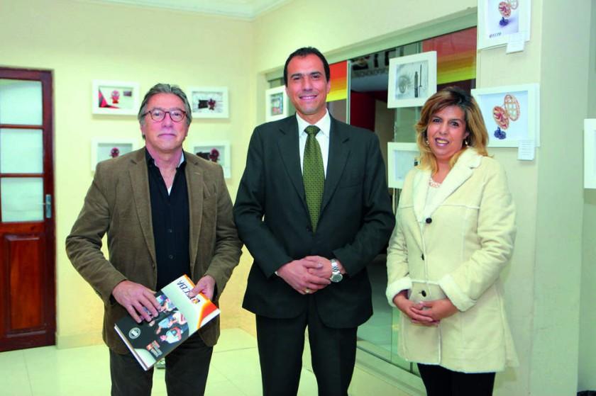 Enrique Vieytes, Juan M. Dipp y Carmen Barrero.