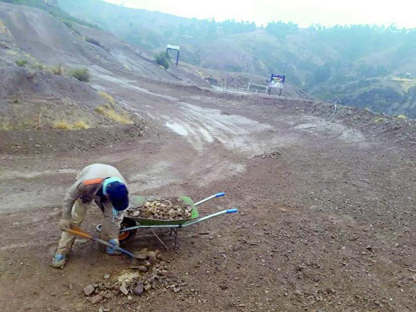 En las últimas semanas, la pista de Santa Catalina fue sometida a un proceso de mantenimiento.