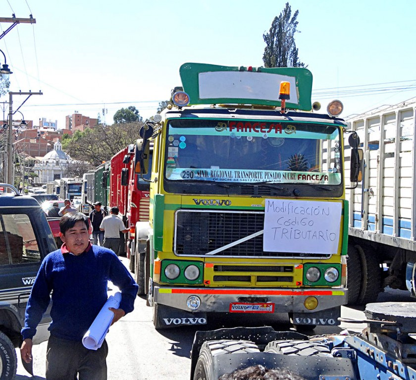 Transportistas se cierran en no bajar el flete a Fancesa