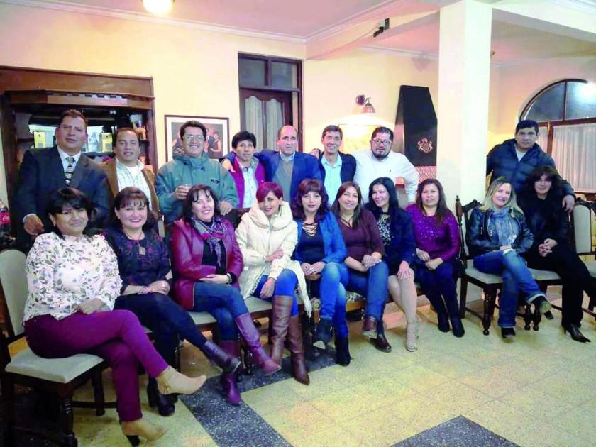 El primer día de su encuentro compartieron una deliciosa cena en casa de Mariela Zamora.