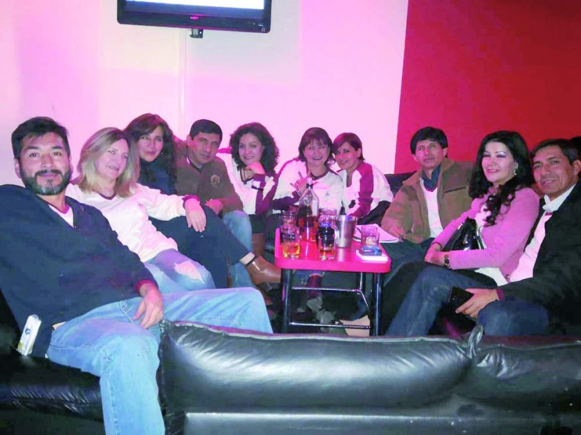 Paúl Tolavi, Norah Montoya, Carla Serrano, Julian Nazrala, Elizabeth Conchari, Marina Zamora, Patricia Peñarrieta...