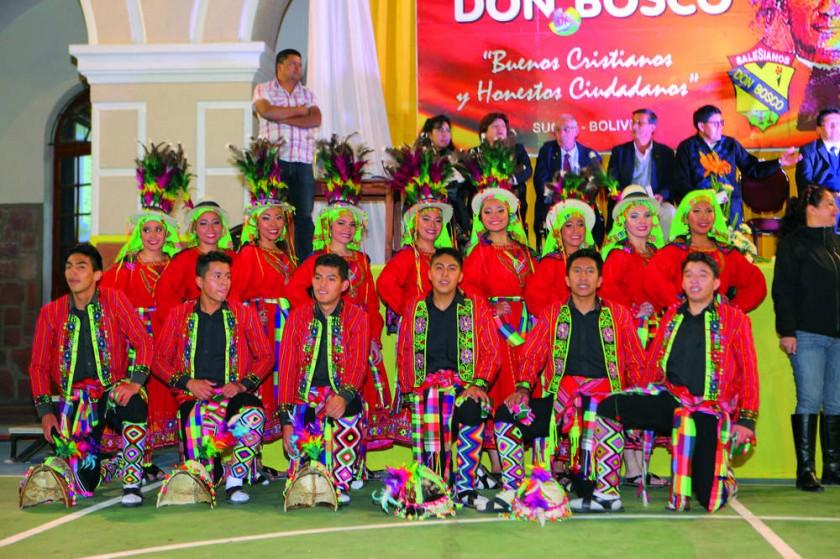 Ballet Don Bosco, estampa Norte Potosí.