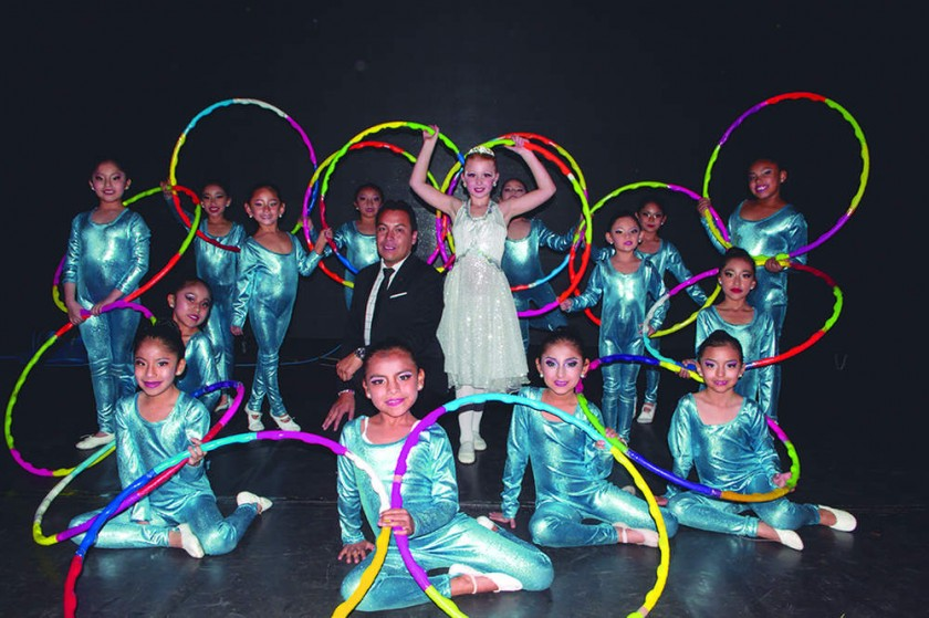 "Cuadro de danza ""Luna""."