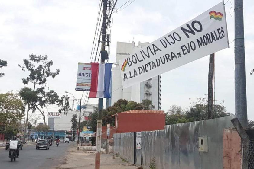"""PARAGUAY. La defensa del 21F y del """"Bolivia dijo No"""" se instaló en Asunción, el miércoles."""
