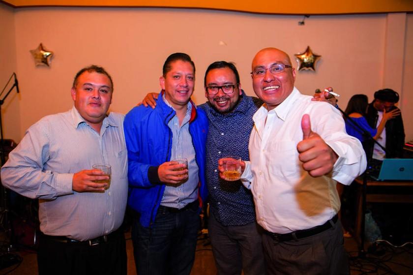 Luis Alcocer, Hernán Portugal, Juan José Rejas y Ariel Alarcón.?