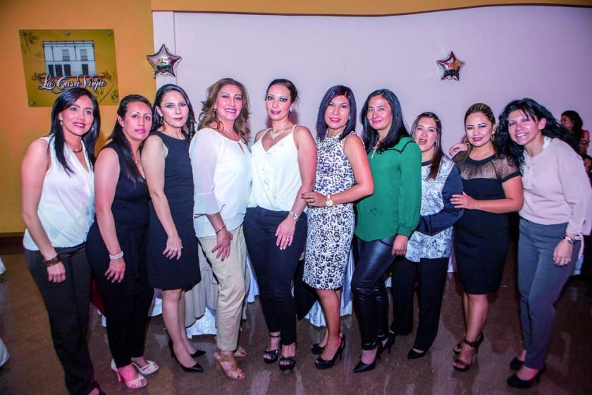 Mariana Oropeza, María Eugenia Osuna, Valeria Ferreira, Karina Murillo, Yuly Eid, Kathia Vedia, Fabiola Vacaflores...