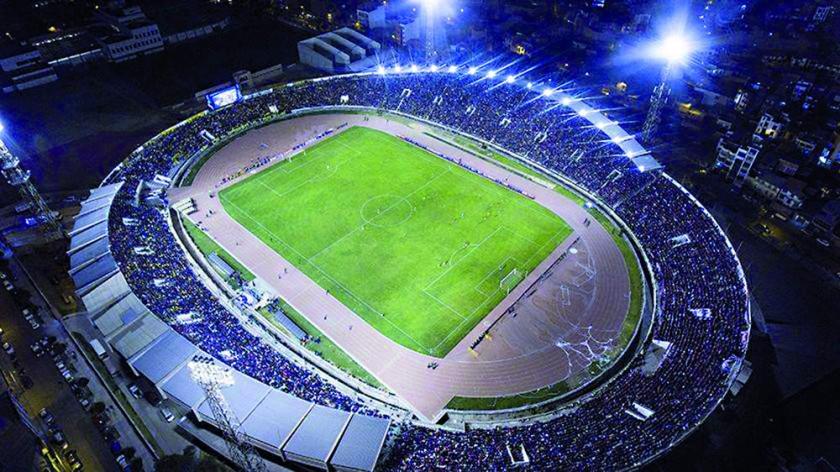 El estadio Patria fue homologado por la CONMEBOL este año.