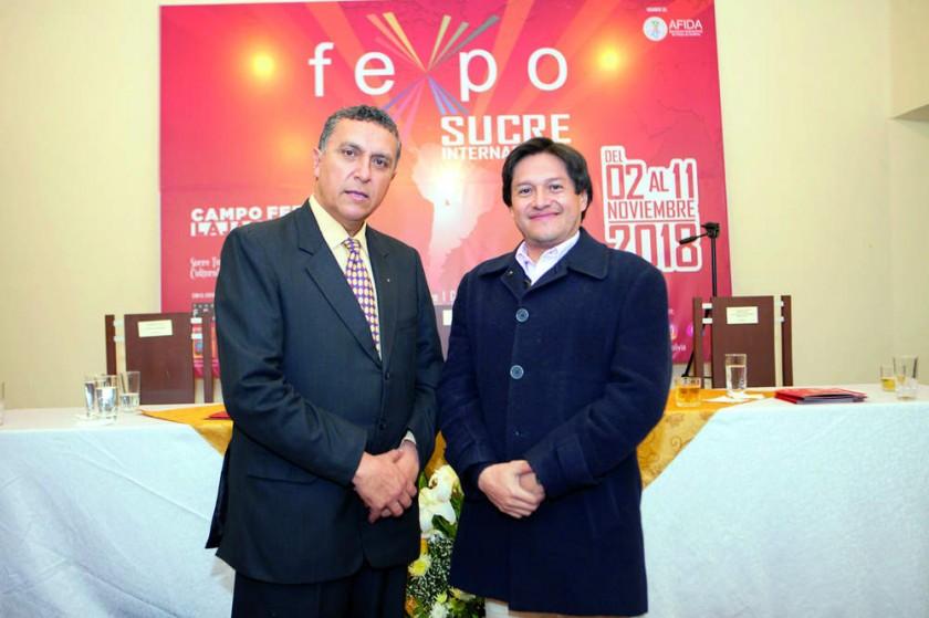 Oscar Laguna y Carlos Marcelo Díaz.