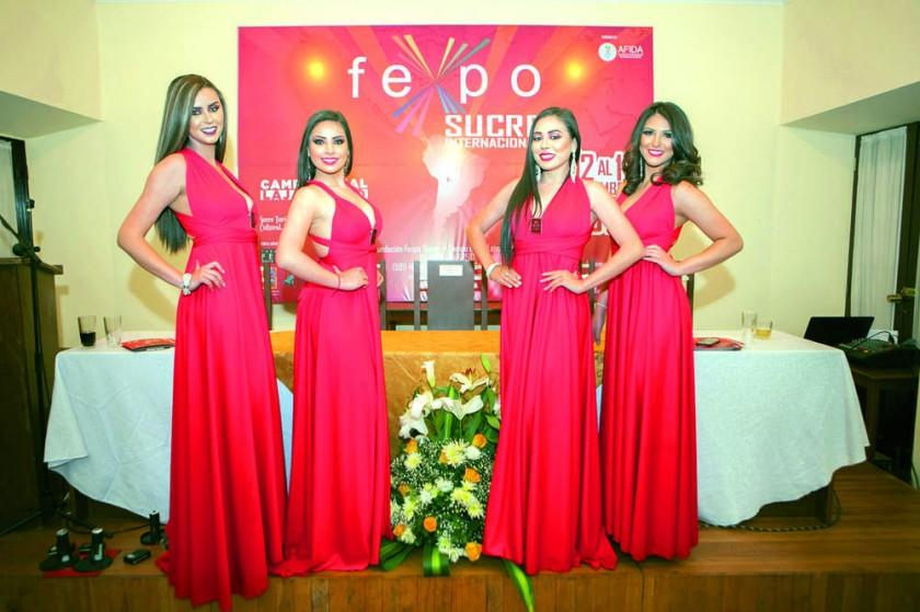 Camila Andrade, Nathaly Mogro, Valeria Poppe y Natalia Rocha.