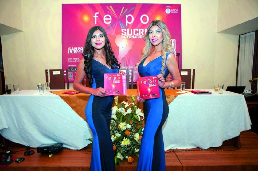 Leslie Ríos e Isabel Ledo.