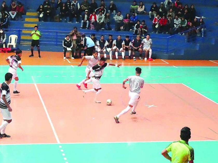 Chuquisaca entra a semifinales del Nacional de Futsal con otra goleada