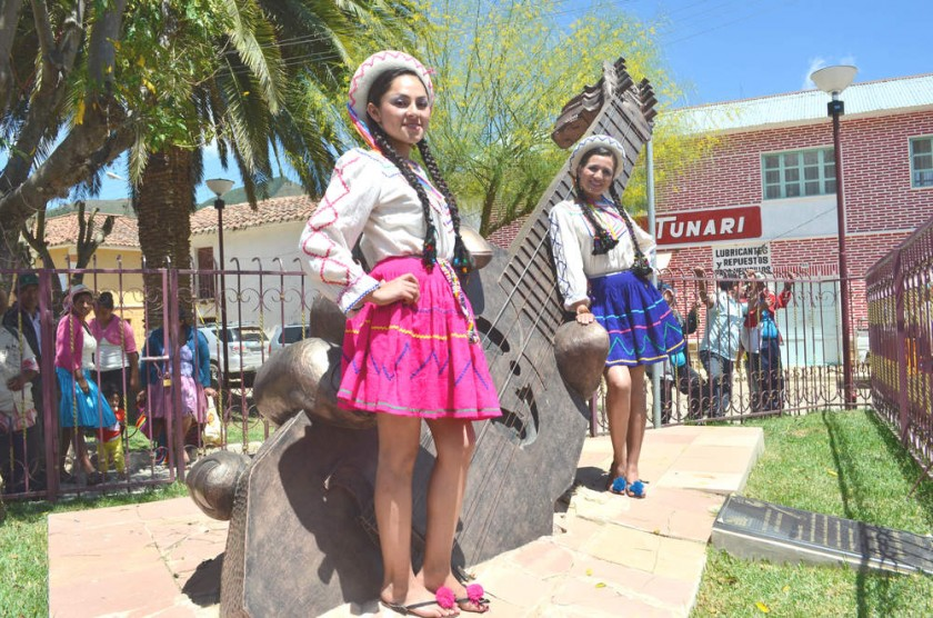 TRADICIÓN. La Navidad de Serrano es un atractivo que convoca a gran cantidad de visitantes.