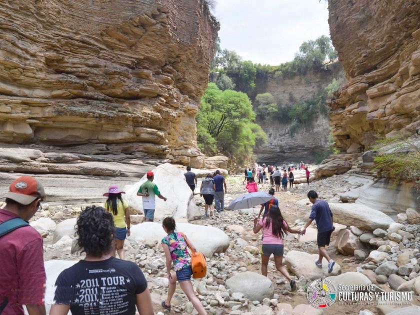 OPORTUNIDAD. El municipio de Icla tiene recursos naturales aptos para el turismo de aventura.