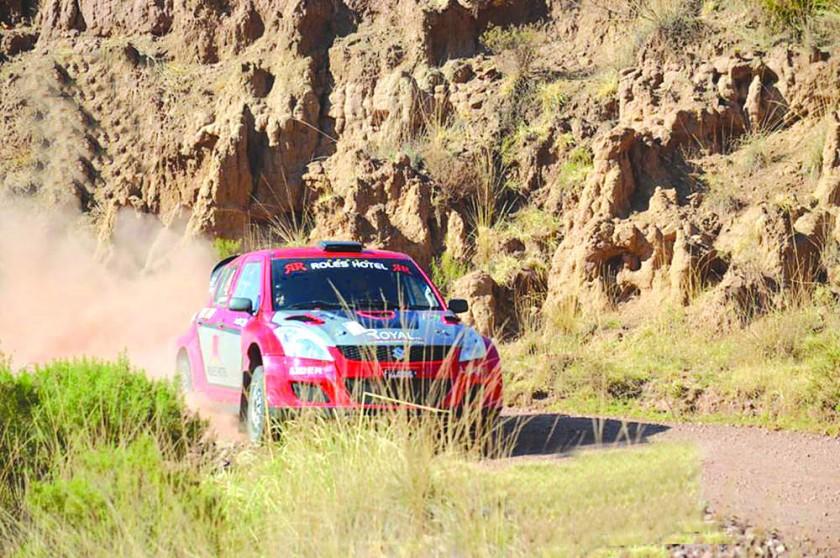 Rolando Careaga Alurralde y José Luis Pérez fueron los más rápidos de la sexta prueba departamental de automovilismo