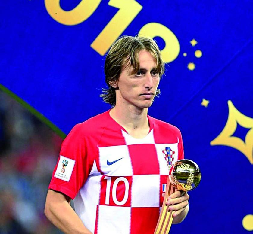 Luka Modric ganó la Champions y fue segundo en el Mundial.
