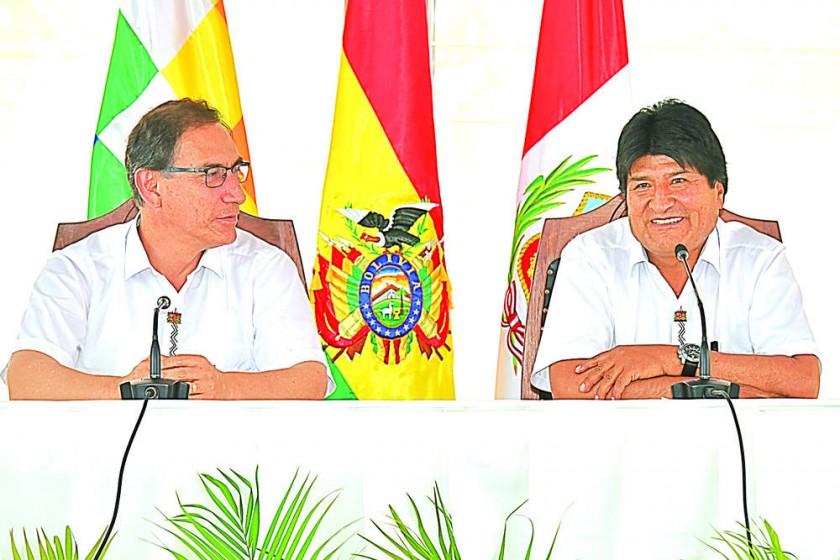 Bolivia y Perú pactan en campos estratégicos