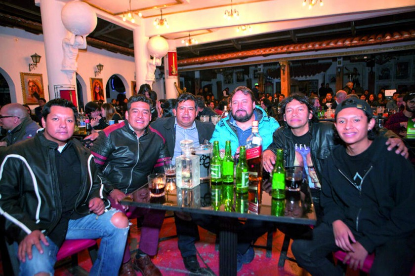 José Miranda, Henry Sotillo, Wilfredo Padilla, Gerardo Carrasco,  Walter Miranda e Isac Miranda.