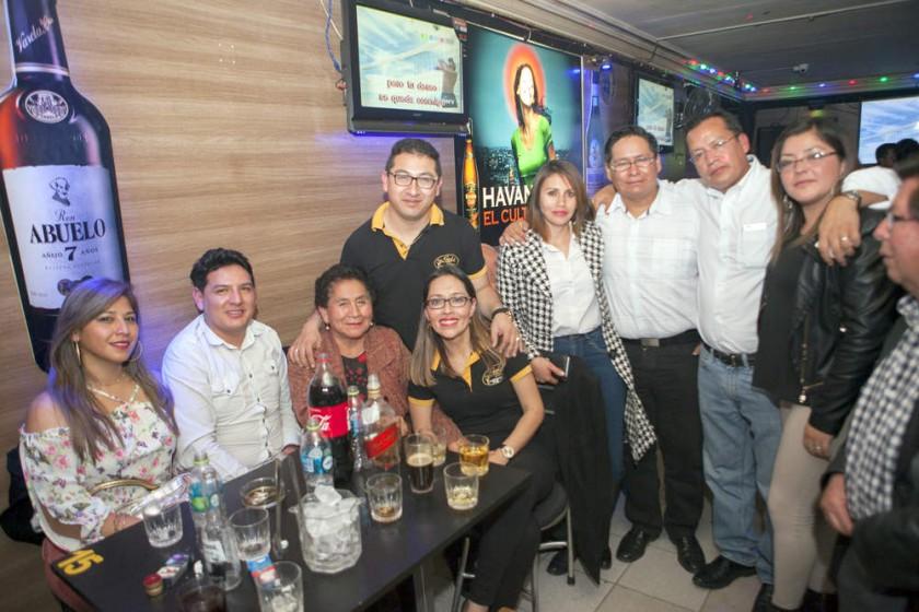 Familia Delgado.