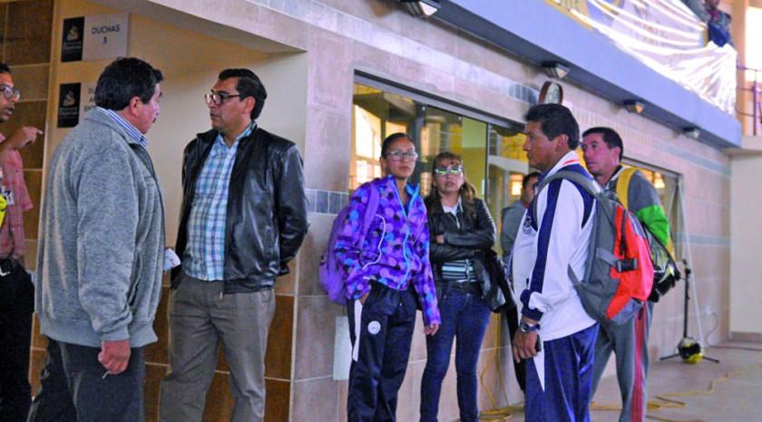 Los profesores de los distintos colegios rechazaron la habilitación de Palaguerra y Bravo
