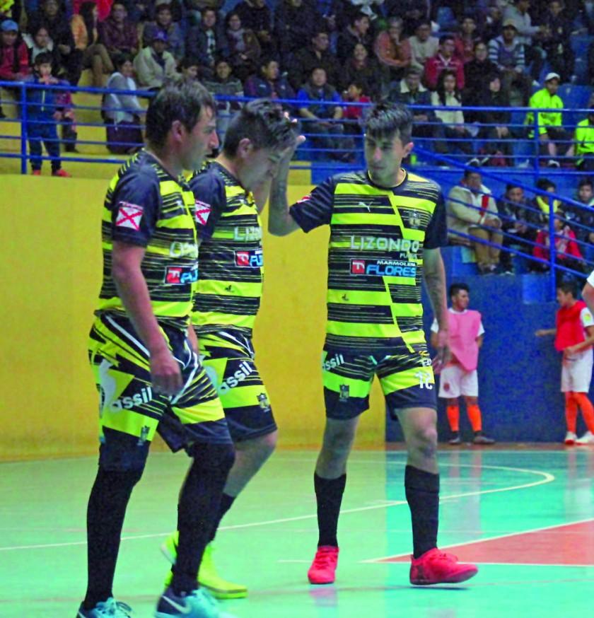 Lizondo consiguió una victoria en Potosí