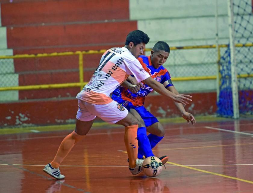 Universitario no pudo celebrar en Tarija, por la Liga de Futsal.