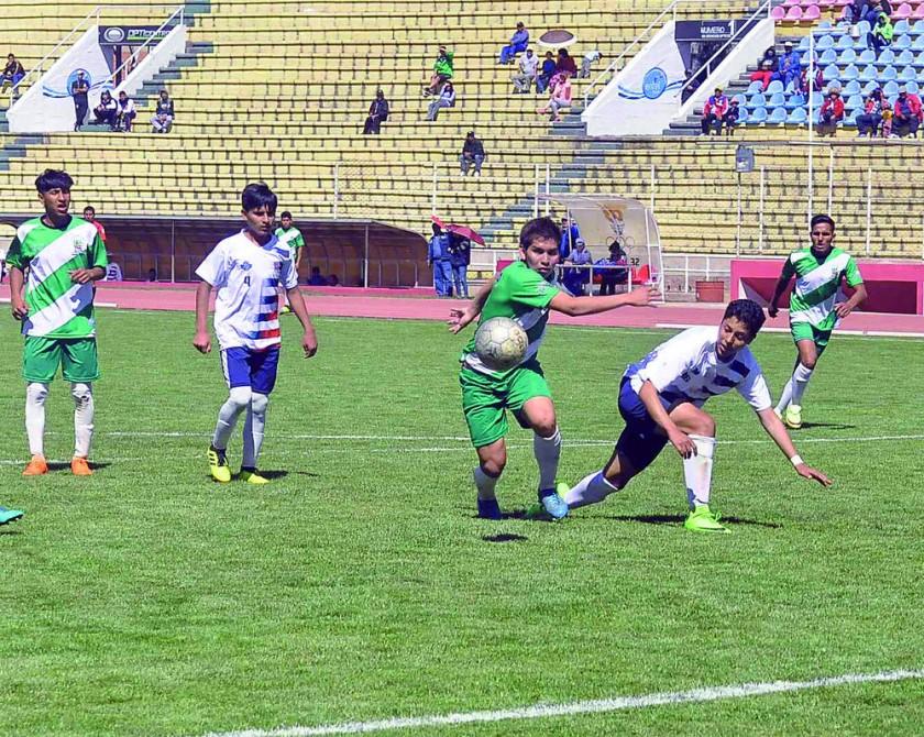 Zudáñez de Sucre logró su pase en un partido frenético.