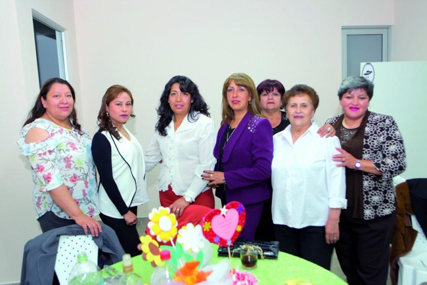 Representantes del Kínder San Roque.