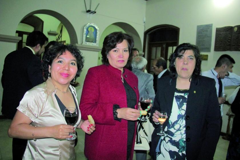 Rosemary Laura, Marisol España y María Esther Deuer.