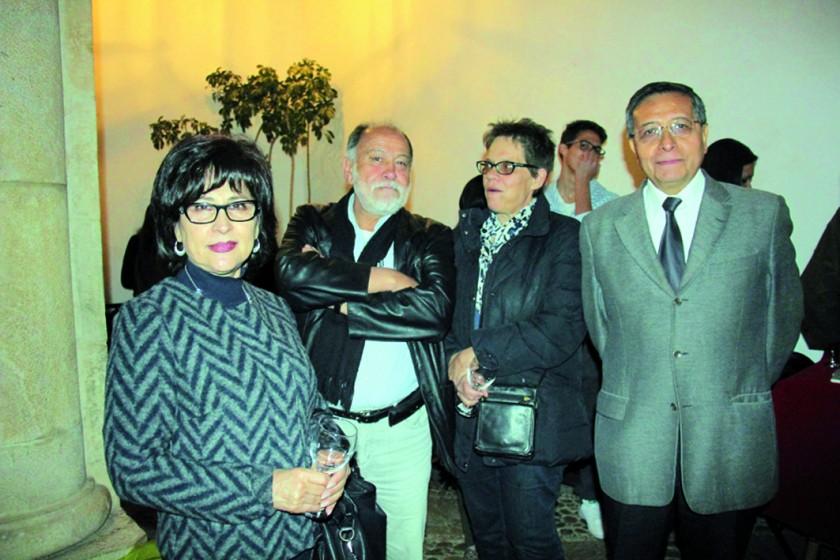 Margot Dávila, Roberto Vilar, Bárbara Kuffer e Iván Avilés.