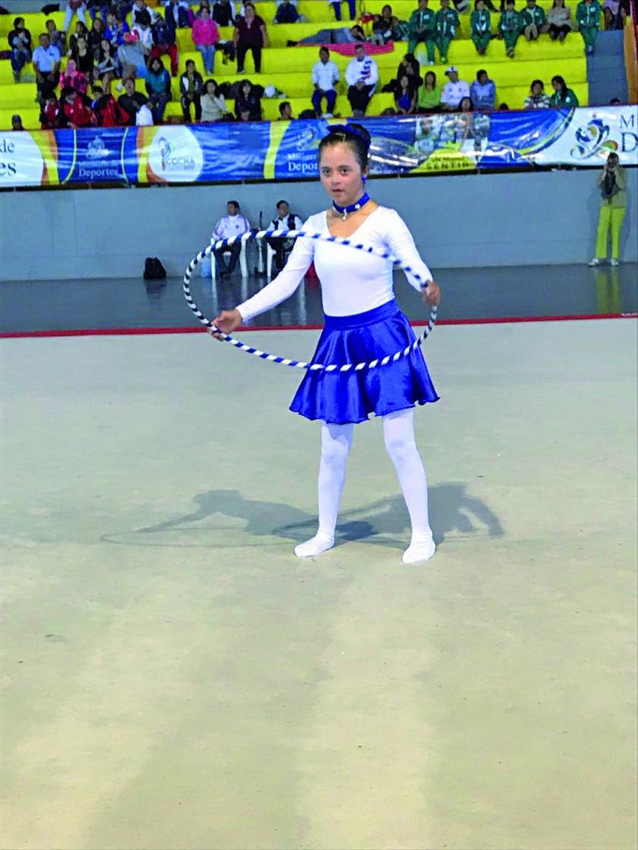 Las primeras pruebas de gimnasia de las Olimpiadas de Educación Especial