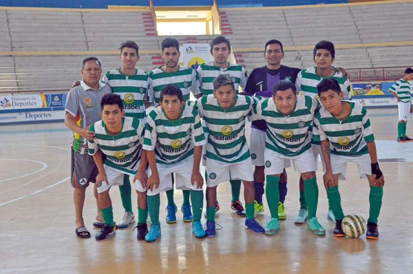 Las dos selecciones nacionales de futsal se preparan en Sucre de cara a la Liga Sudamericana.