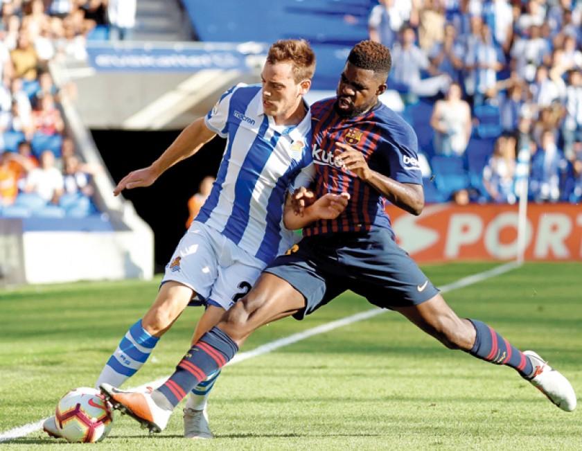 Barcelona y el Real Madrid sumaron unidades ayer en partidos como visitantes.