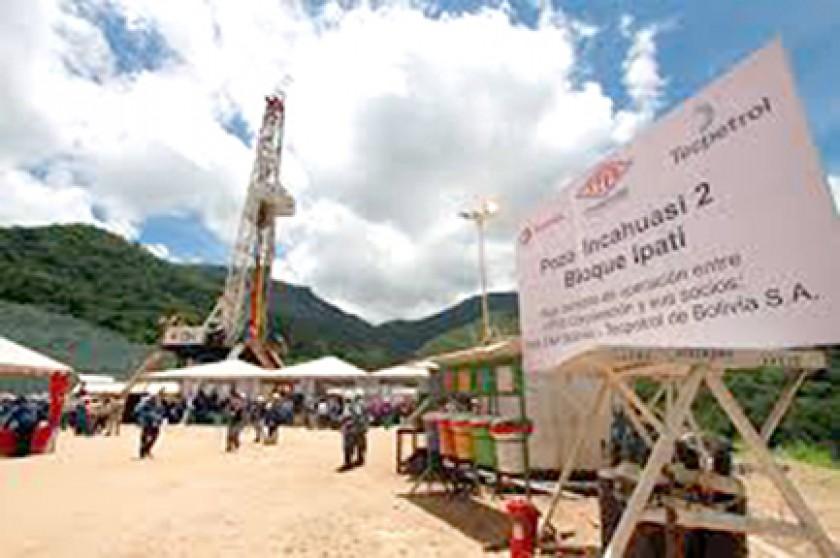 Gas. El campo Incahuasi aumentará su producción con vistas a la exportación.