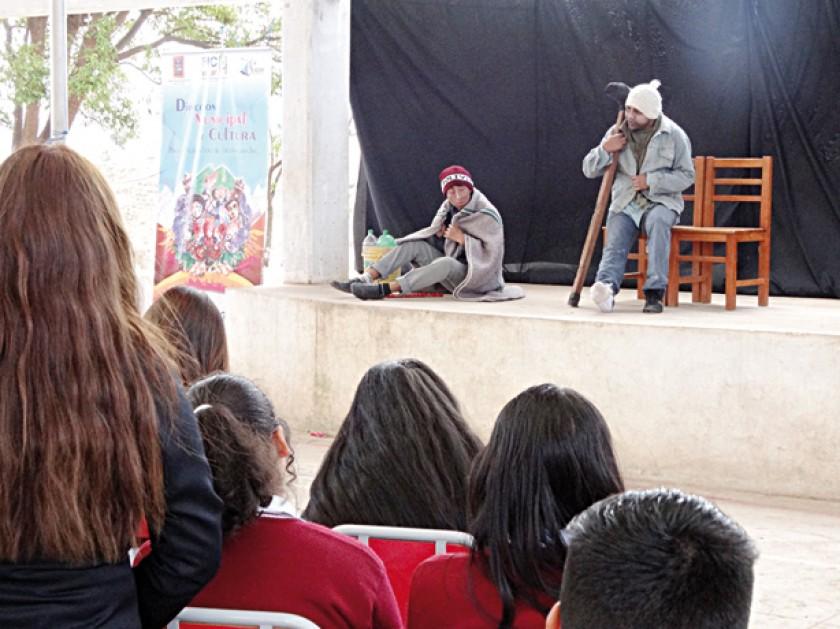 ACTUACIÓN. Escuela Hugo Poppe Entrambasaguas.
