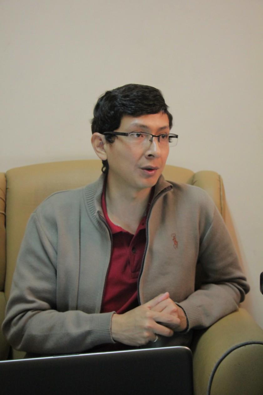 Ingeniero Dennys Gonzales Pereira, director del Proyecto de las Plataformas Virtuales de CCT-UASB.