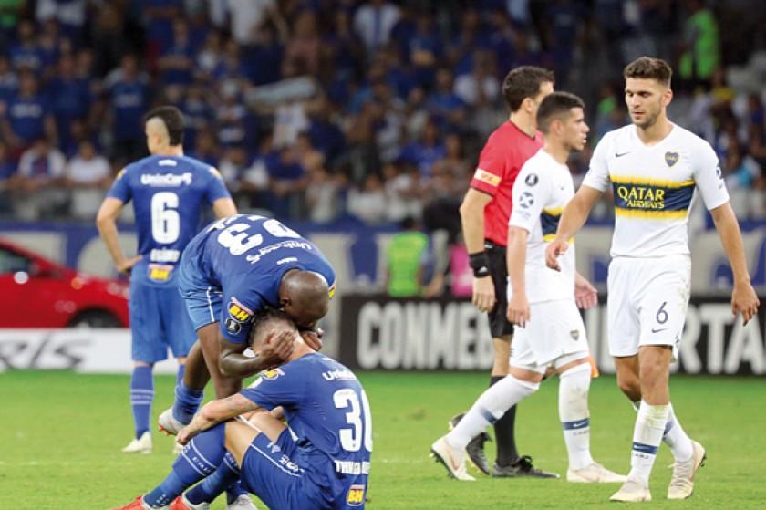 Boca eliminó a Cruzeiro de la Copa
