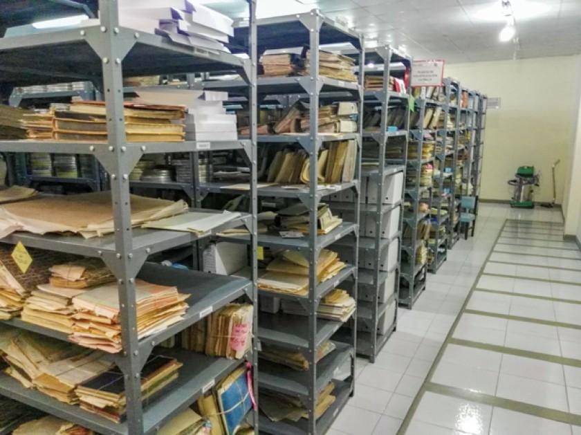 40 kilómetros de documentación minera