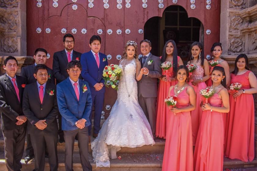 Mauricio Gonzáles, Beymar Orellana, Christian Paredes, Mauricio Marín, Hugo Azurduy, Edson Fernández, Lizbeth Molina, Ro