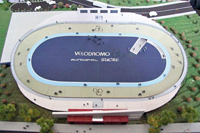 El proyecto del velódromo en Sucre viene desde 2009 y hasta la fecha no se hizo realidad