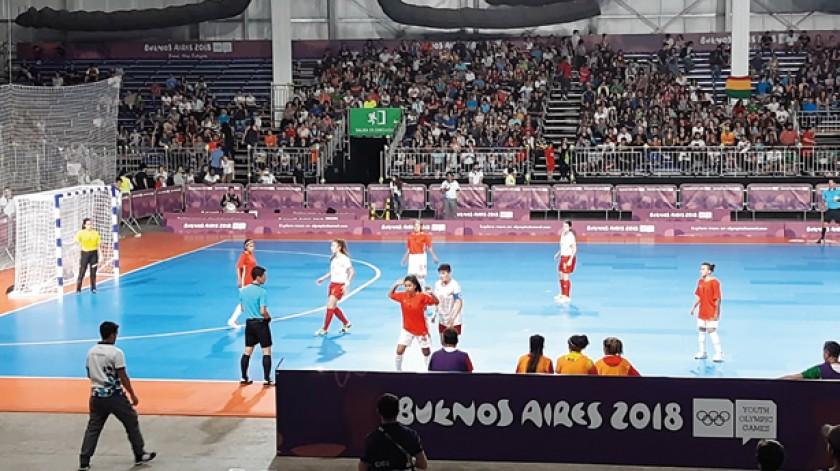 La Verde cayó en su primer partido de los Juegos frente a España.
