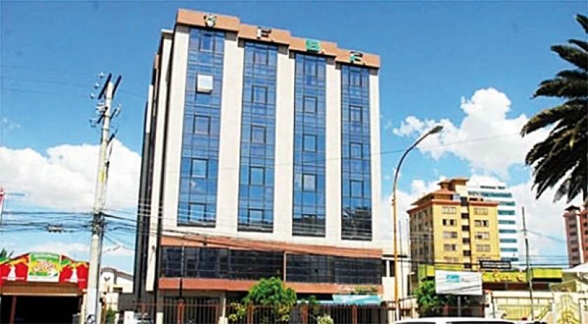 Edificio de la Federación Boliviana de  Fútbol en Cochabamba