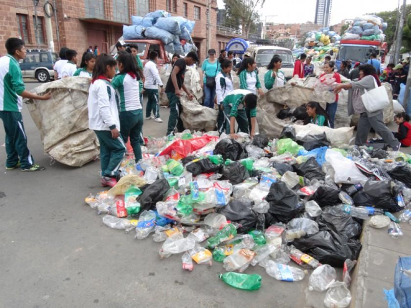 20 toneladas para reciclar