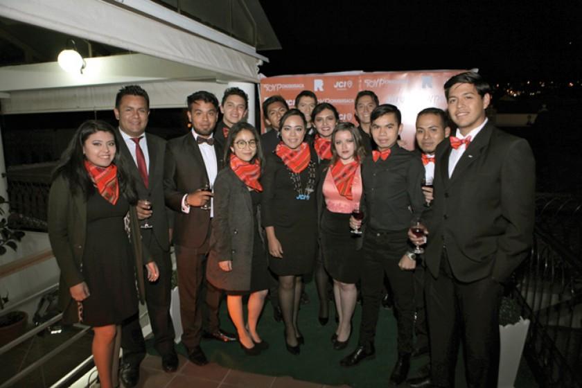 Representantes de la JCI Chuquisaca.