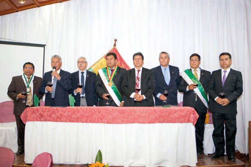 Autoridades de la SIB nacional, departamental y del Gobierno Municipal.